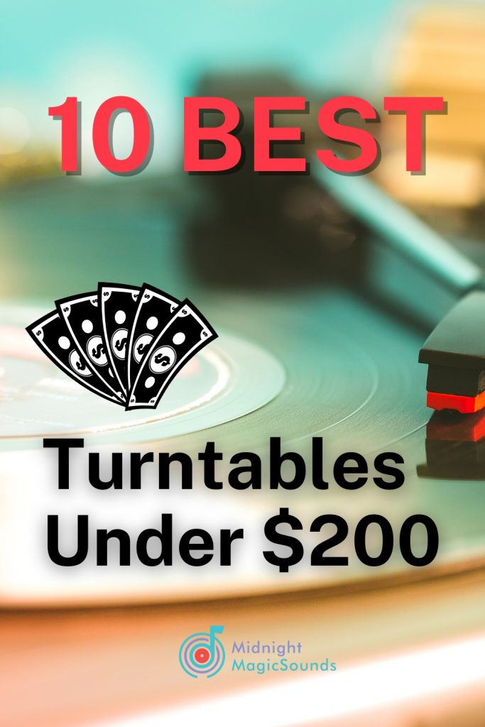 10 Best Turntables Under $200 Pin