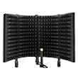 Aokeo Studio Recording Microphone Isolation Shield