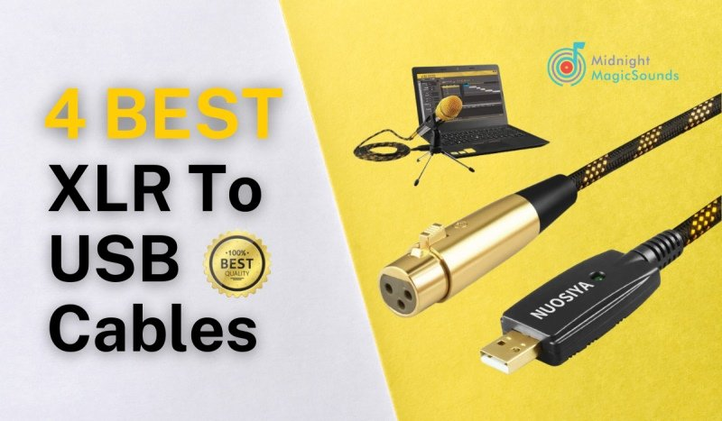 4 Best XLR To USB Cables