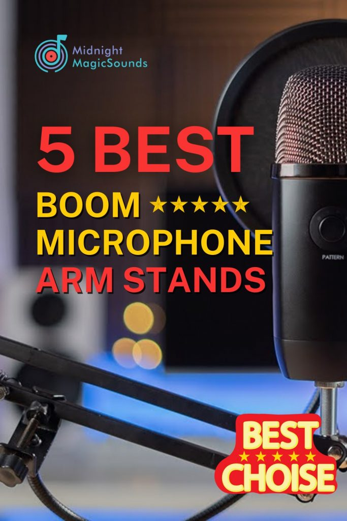 5 Best Boom Microphone Arm Stands Pin