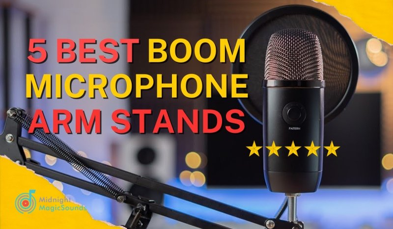 5 Best Boom Microphone Arm Stands