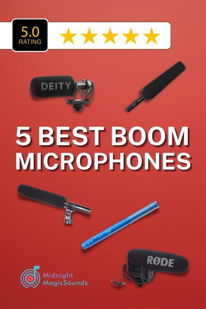 5 Best Boom Microphones Pin