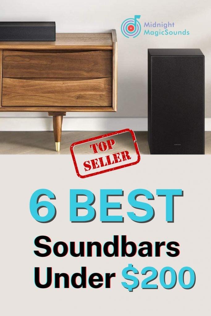 6 Best Soundbars Under $200 Pin