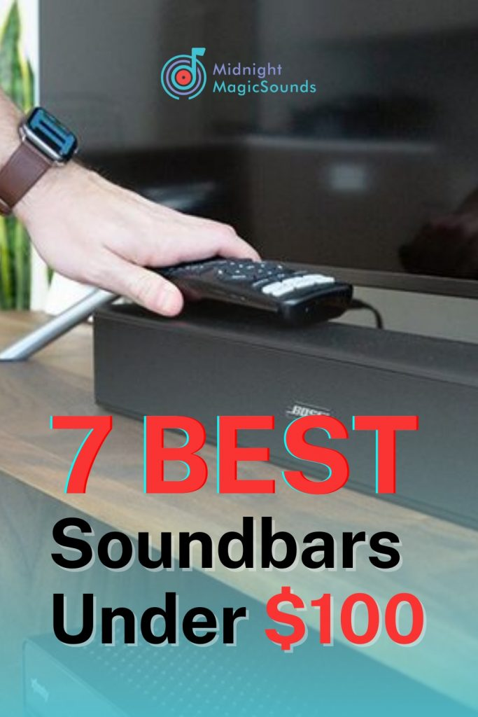 7 Best Soundbars Under $100 Pin