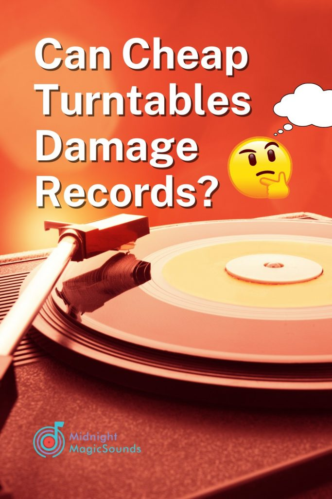 Can Cheap Turntables Damage Records Pin