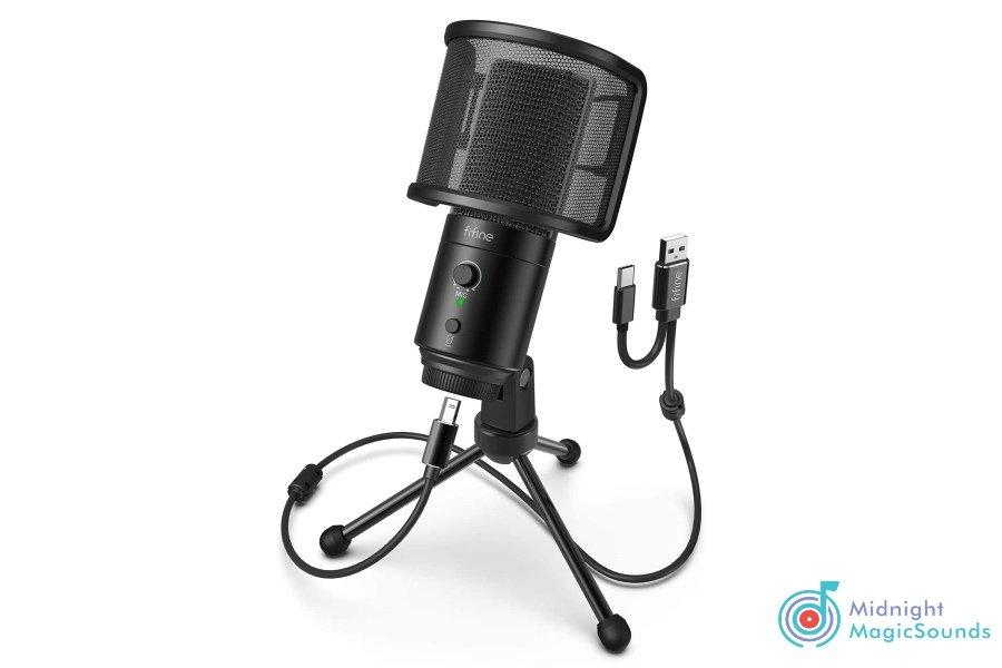 FIFINE USB Microphone Plug -K683A