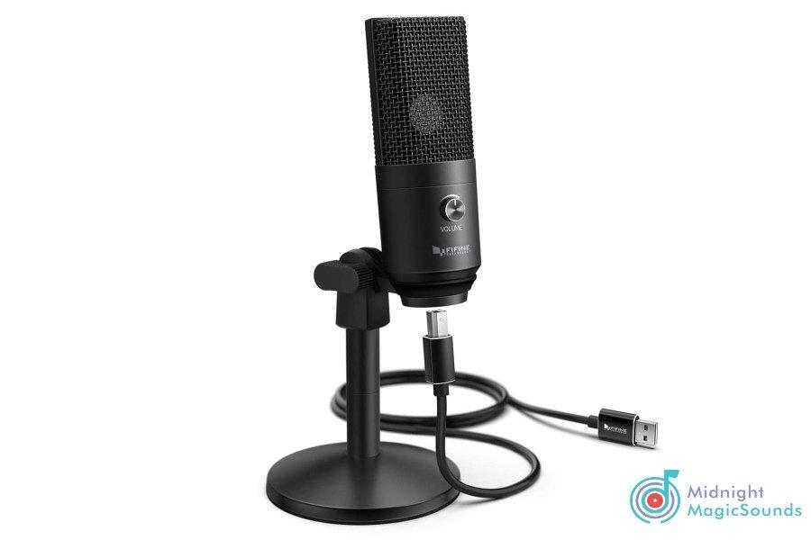 Fifine USB Desktop PC Microphone - K683A