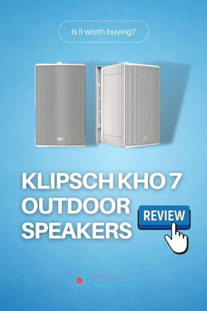 Klipsch Kho 7 Outdoor Speakers Review Pin