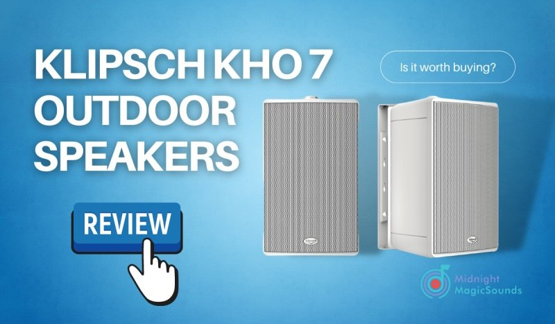 Klipsch Kho 7 Outdoor Speakers Review