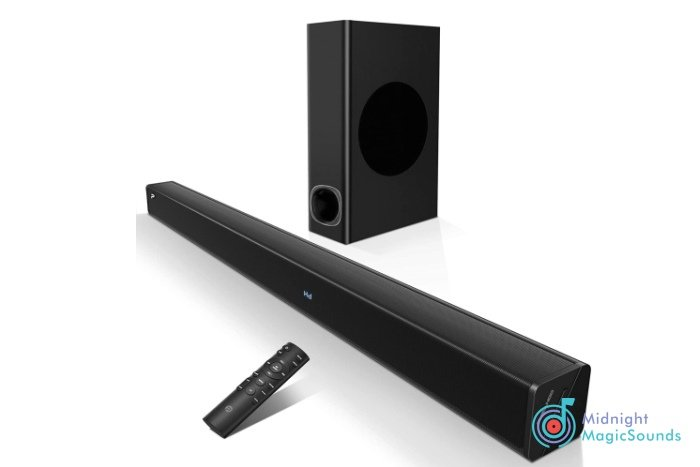 Soundbar with Subwoofer by Pheanoo