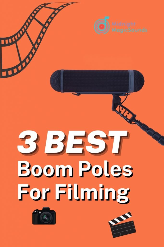 Top 3 Boom Poles For Filming Pin