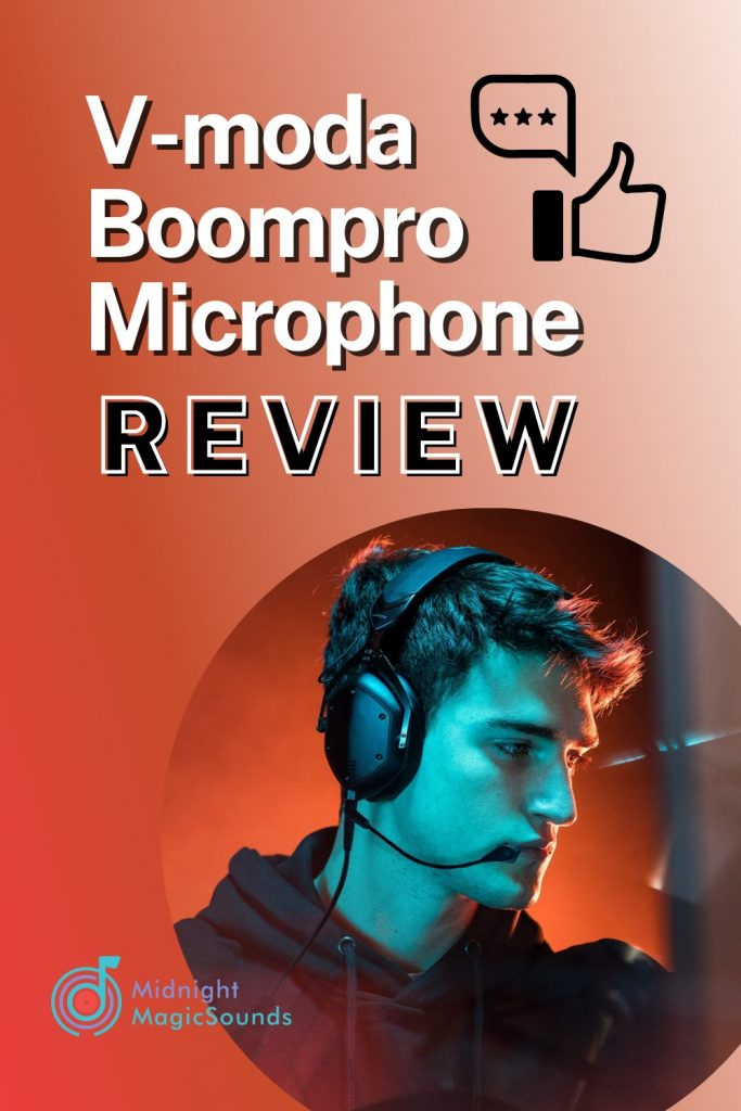 V-moda Boompro Microphone Review Pin