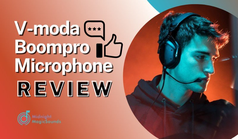 V-moda Boompro Microphone Review