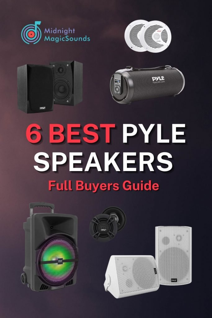 6 Best Pyle Speakers Review - Full Buyers Guide Pin