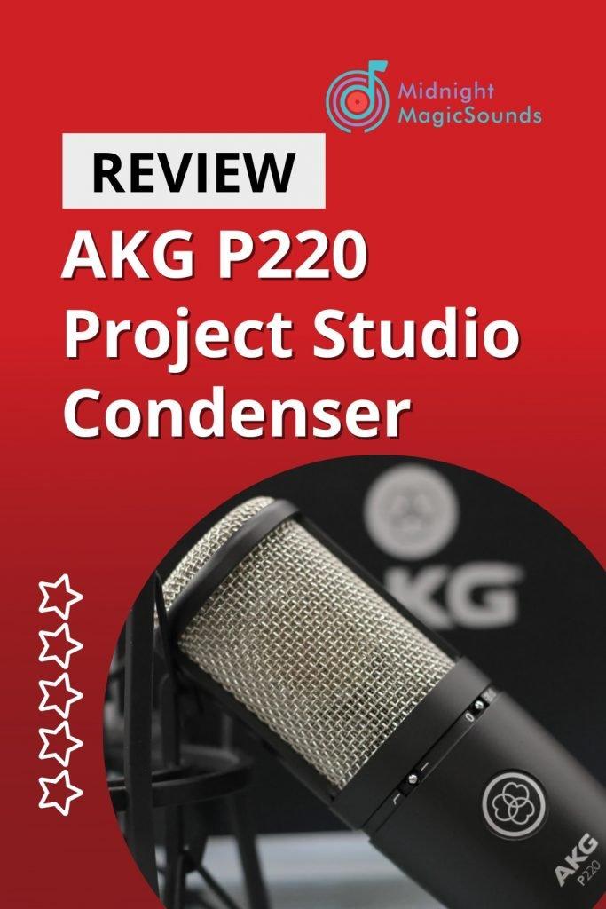 AKG P220 Project Studio Condenser Review Pin