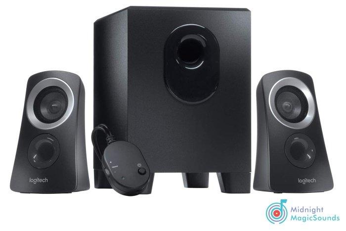 Logitech Z313 2.1 Multimedia Speaker System with Subwoofer