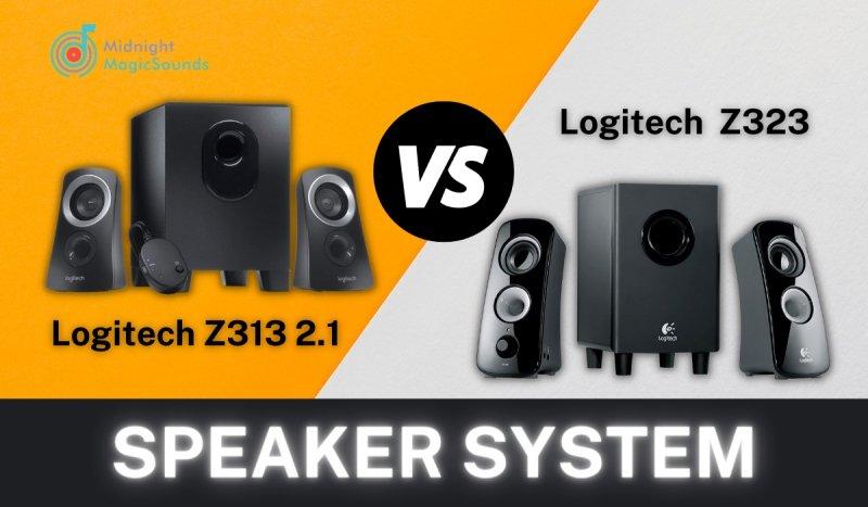 Logitech Z323 vs. Logitech Z313