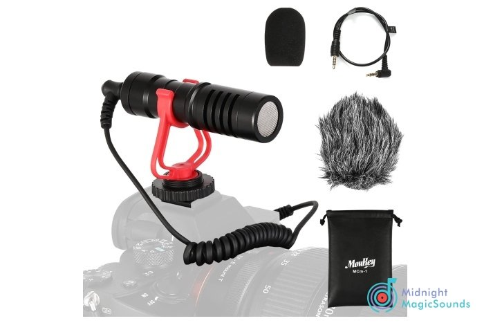 Moukey MCM-1 DSLR Camera Microphone