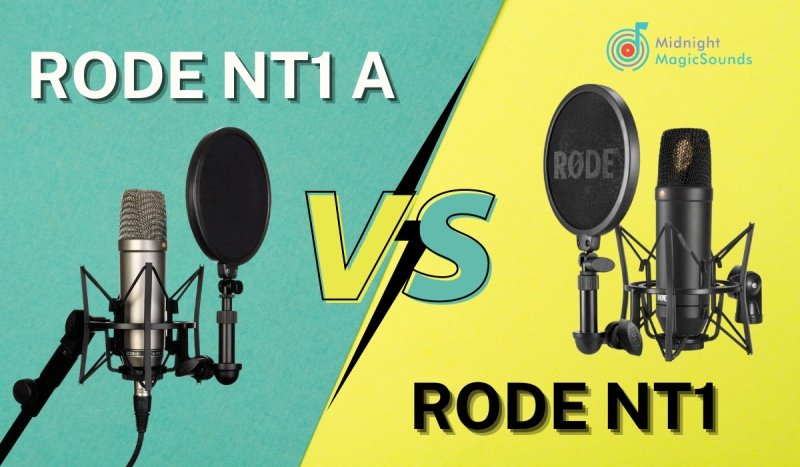 Rode NT1 vs. Rode NT1A: A Comparative Review