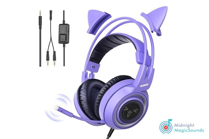 SOMIC G951S Purple Stereo Gaming Headset