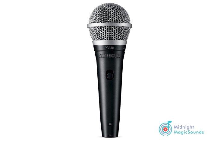 Shure PG ALTA PGA48 Cardioid Dynamic Vocal Microphone