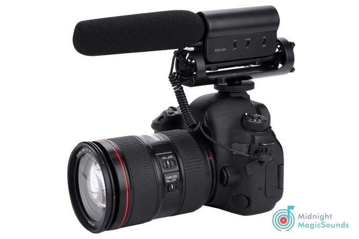 TAKSTAR SGC-598 Interview Microphone for Nikon/Canon Camera