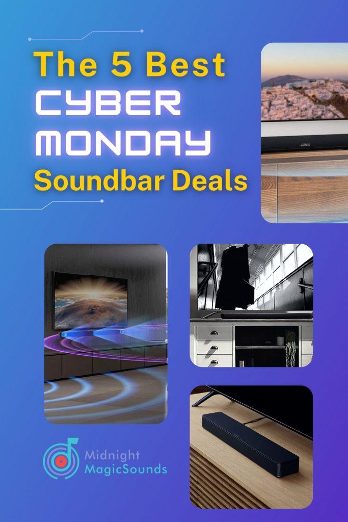 The 5 Best Cyber Monday Soundbar Deals Pin