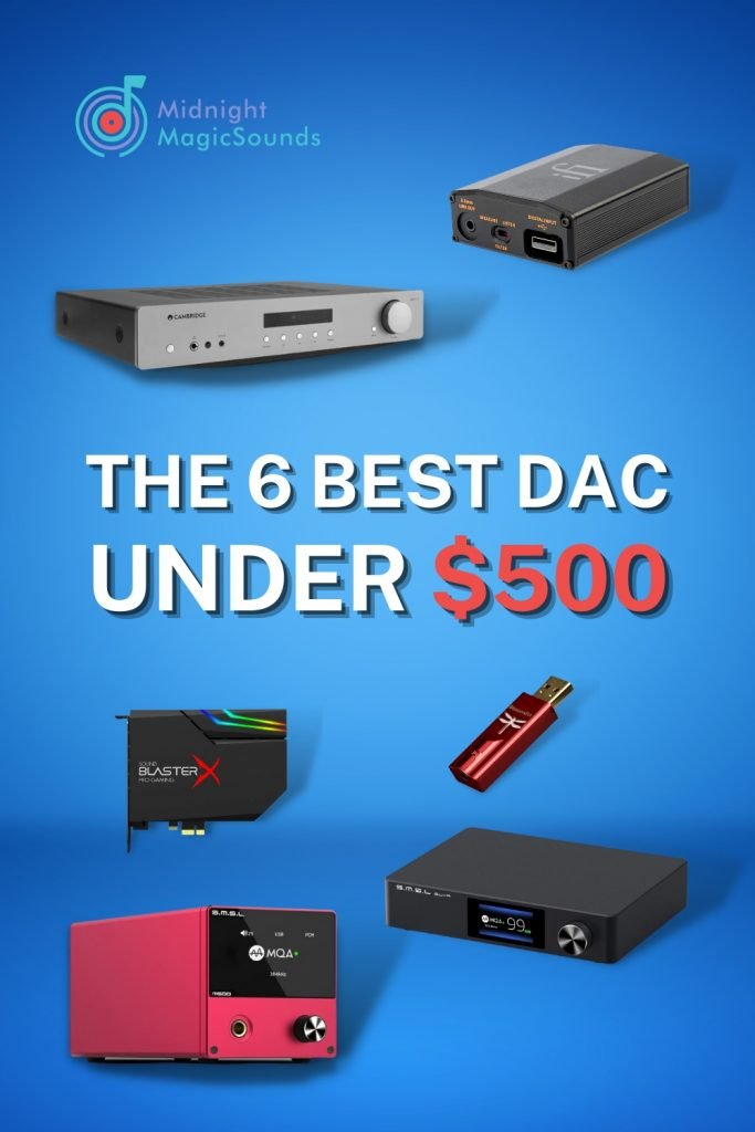 The 6 Best DAC Under $500 Pin