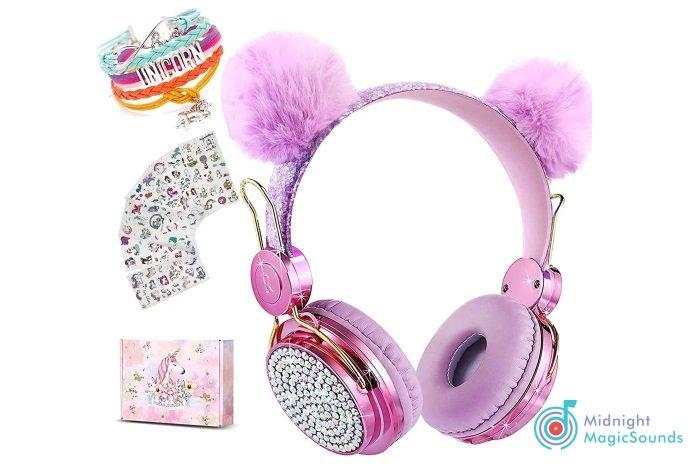 Unicorn Wireless Headphones for Kids
